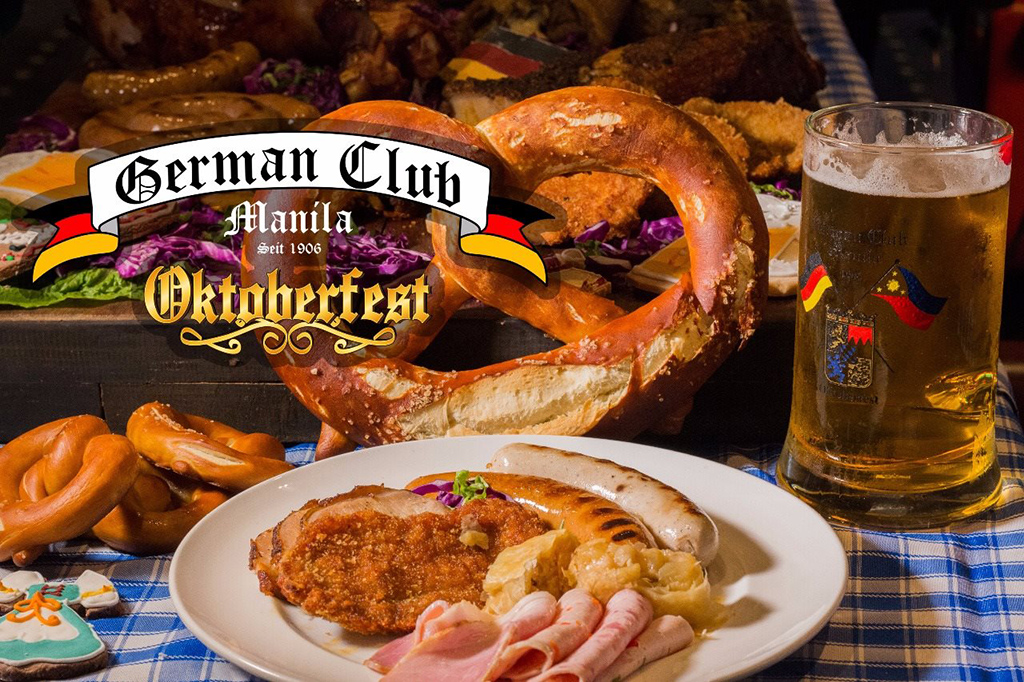 ... in the Philippines as the German Club Manila celebrates its 79th Oktoberfest happening on October 6 and 7 at the Harbor Garden Tent Sofitel Philippine ... & German Club Manilau0027s Oktoberfest | Philippine Primer