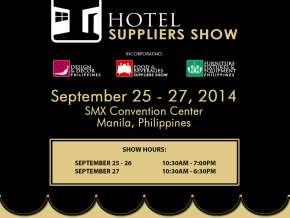 Hotel Suppliers Show on September 21-23