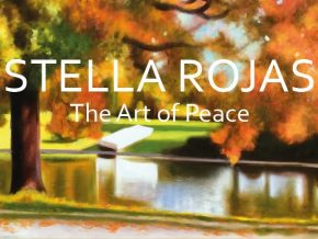 Stella Rojas' Art of Peace Painting Exhibit