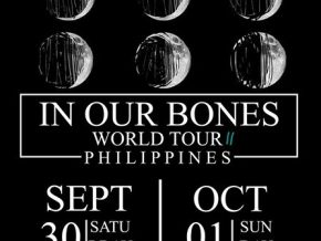 Against the Current: In Our Bones World Tour in Manila