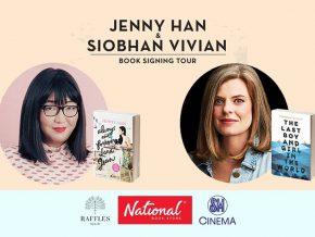 Jenny Han & Siobhan Vivian Signing Tour in PH