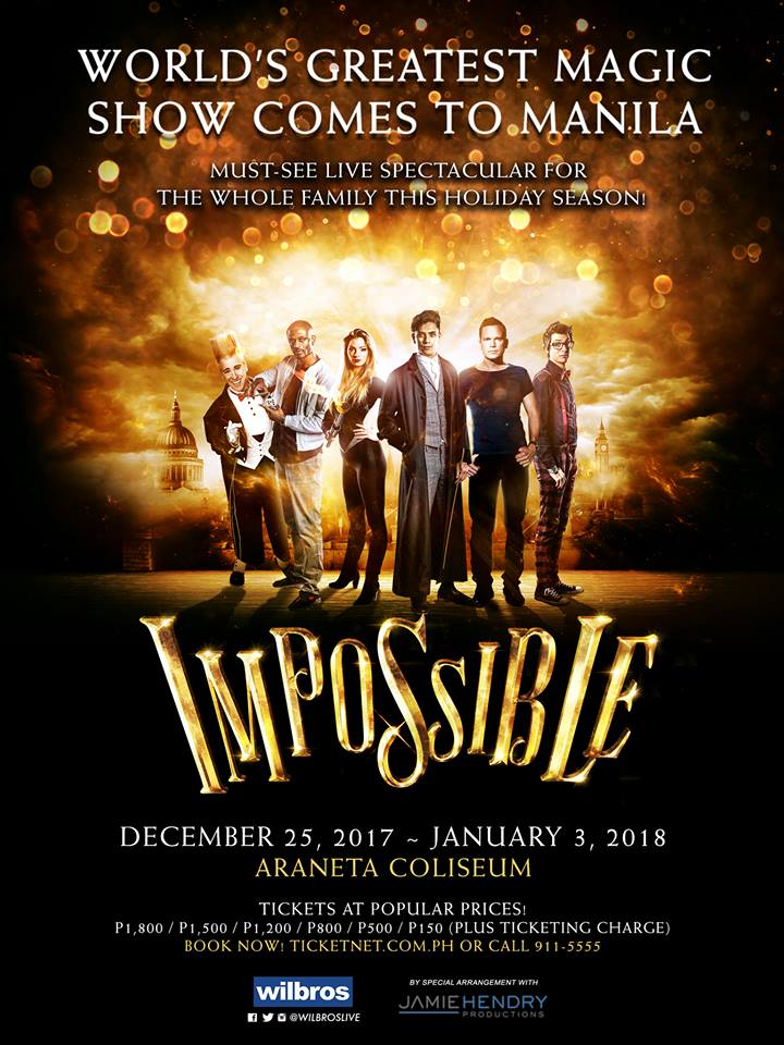 Impossible Manilla Poster