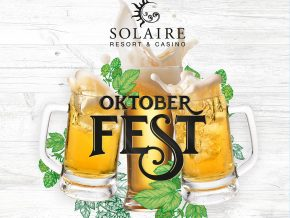 An authentic German Oktoberfest experience at Solaire