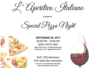 L'Aperitivo Italiano presents Special Pizza Night