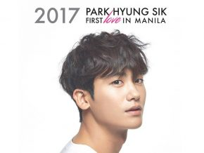 Park Hyung Sik First Love in Manila