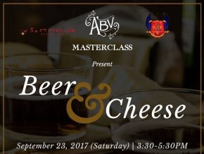 An unlikely pair: ABV's Beer & Cheese Masterclass