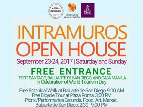 Intramuros Open House on September 23-24, 2017