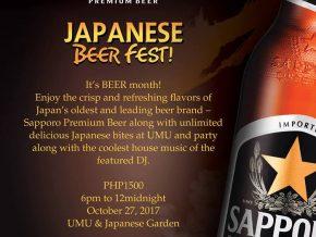 Sapporo Oktoberfest at UMU Restaurant, Dusit Thani Manila Hotel