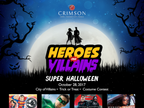 Crimson Hotel's Heroes and Villains Super Halloween