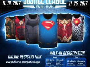 Justice League Fun Run PH 2017 at SM MOA Complex