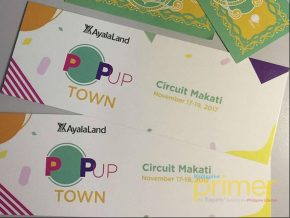 Ayala Land's Pop-Up Town in Circuit Makati