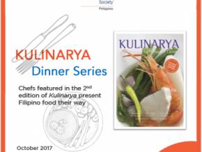 Kulinarya Dinner Series 2017