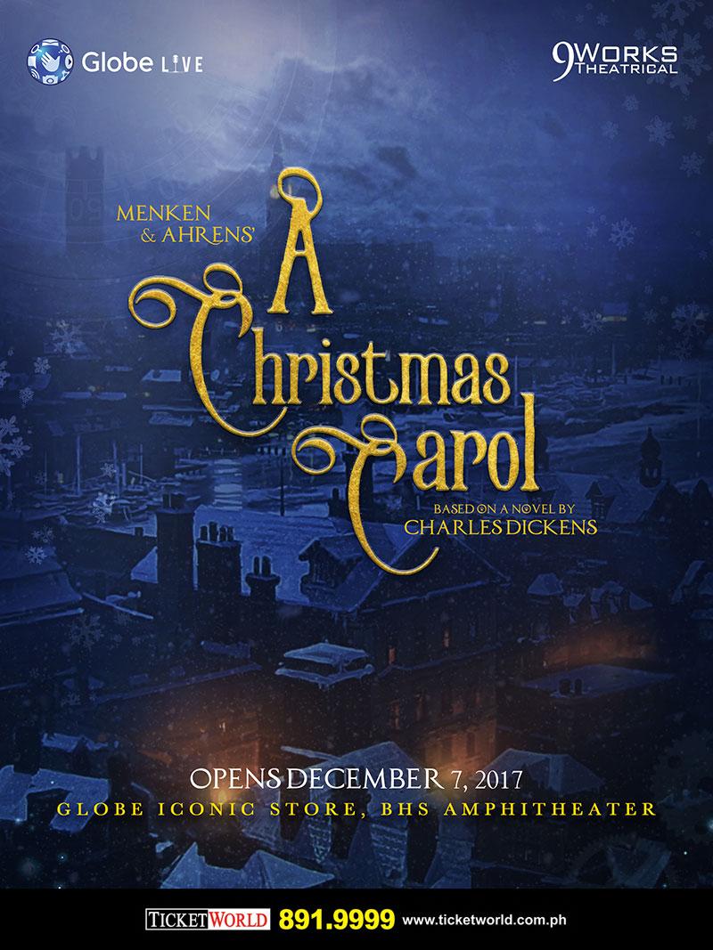 A Christmas Carol Poster.Menken And Ahren S A Christmas Carol The Musical