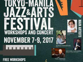 Tokyo Manila Jazz Art Festival on November 7-9, 2017