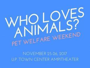 Who Loves Animals? A Pet Welfare Weekend