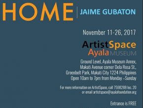 Exhibit on Home by Jaime Gubaton