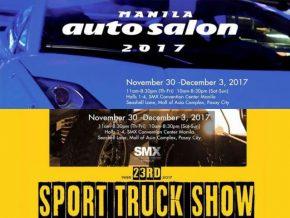 Manila Auto Salon 2017 x 23rd Sport Truck Show