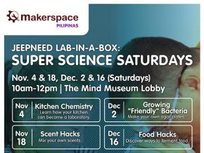 Science Saturdays with Makerspace Pilipinas