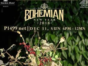 Encima Roofdeck Restaurant's Bohemian New Year