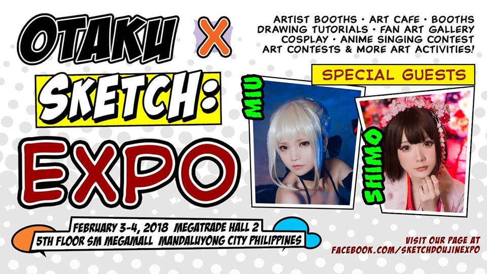 IMAGE Otaku X Sketch Expos Facebook Event Page