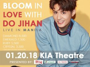 Do Jihan (Hwarang) Live in Manila 2018