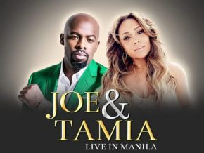 Joe Thomas and Tamia live in Manila on March 2018