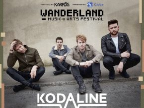 Kodaline joins Wanderland Music and Arts Festival 2018
