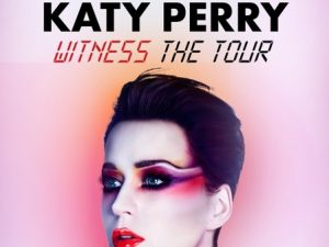 Katy Perry, Witness: The Tour comes to Manila on April 2, 2018 @ Pasay   Metro Manila   Philippines