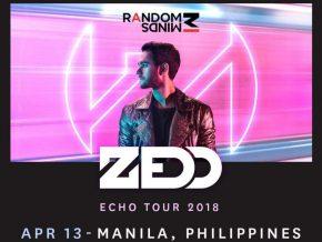 Zedd returns to Manila on April 13, 2018
