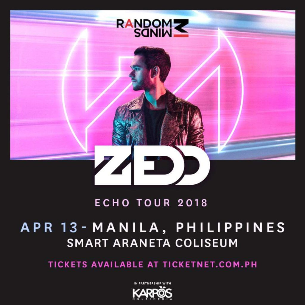 Zedd returns to manila on april 13 2018 philippine primer after performing with other artists at road to ultra philippines last september this year if youre a fan of his previous tours then be sure to check out stopboris Image collections