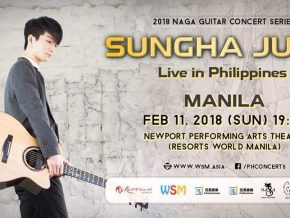 Sungha Jung live in Manila on February 11, 2018
