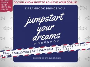 Jumpstart Your Dreams: A Dreambook Workshop on January 20, 2018