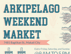 Arkipelago Weekend Market in Makati