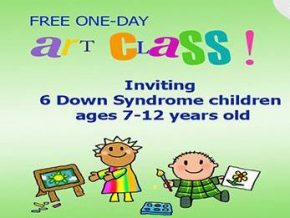 Free One-Day Art Class for Kids with Special Needs at Topia BGC