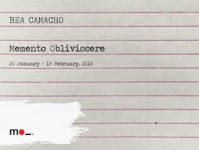 Memento Obliviscere by Bea Camacho