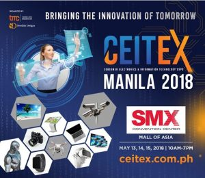 Consumer Electronics and Information Technology Expo (CEITEX) Manila 2018 @ Pasay | Metro Manila | Philippines