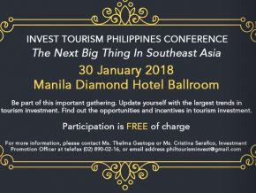Invest Tourism Philippines Conference 2018