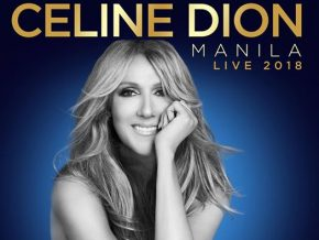 Celine Dion live in Manila on July 19 and 20, 2018