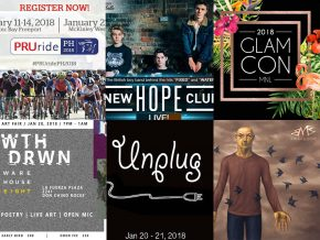 Events Happening This Weekend: January 19-21, 2018