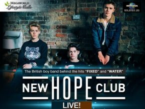 New Hope Club live in Manila on January 19 to 21, 2018