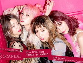 SCANDAL Live in Manila for Asia Tour 2018