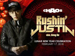 Valentine's Weekend Entertainment with Korean DJ Rushin' Justin