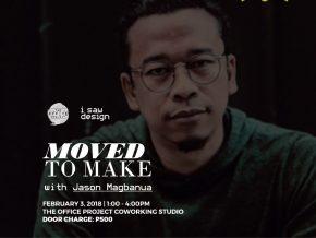 MOVED to Make with Jason Magbanua