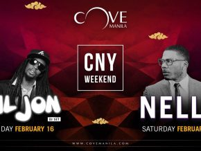 Nelly and Lil Jon headline Cove Manila's all-out Chinese New Year party!