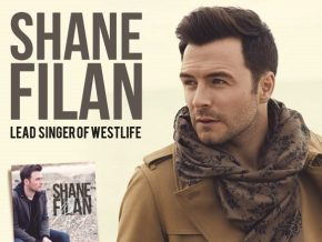 Shane Filan returns to Manila on February 9 to 11, 2018
