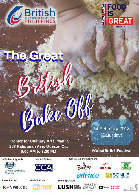 BCCP's Great British Bake Off | Philippine Primer