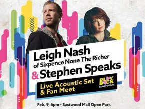 Leigh Nash and Stephen Speaks on February 9, 2018