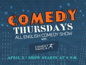 Comedy Thursdays at Sage Bar in Makati