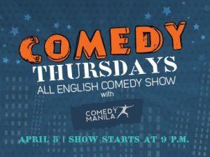 Comedy Thursdays at Sage Bar in Makati @ Makati   Metro Manila   Philippines