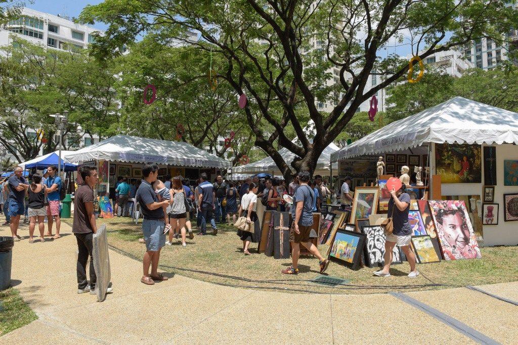 Art in the Park 2018 at Salcedo Village, Makati: An Affordable Art Fair @ Makati   Metro Manila   Philippines